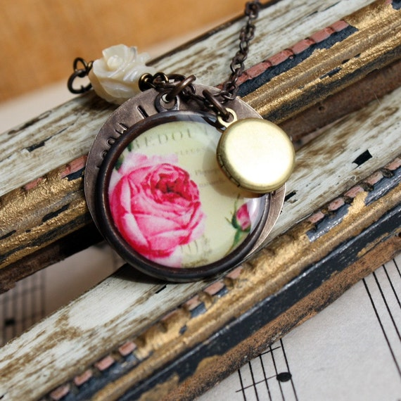 RESERVED for Whitney - 6 Ardently bridesmaid necklaces