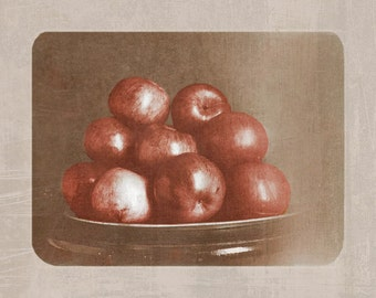 Apple Plate 1903 fine art Photography