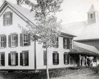 photo Frostburg Maryland Colonial Style house Laundry 1912