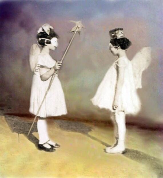 Butterfly Fairy Magic Little Girls Fine Art Color Photograph