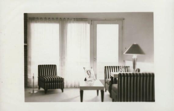vintage photo Modern Retro Interior Living Room