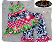 Custom Boutique Clothing Christmas Aline Jumper Tiered Twirl Ruffle Pant Outfit Set 3 6 9 12 18 24 month size 2T 2 3T 3 4T 4 5T 5 6 7 8