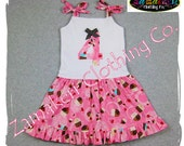Girl Toddler Baby Dress Custom Boutique Clothing Cupcake Twirl Ruffle Knit Tie Dress 3 6 9 12 18 24 month size 2T 2 3T 3 4T 4 5T 5 6 7 8