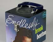 Sale: 20 Dollars Off - Recycled Record CD Case or Keepsake Box - Brook Benton Endlessly