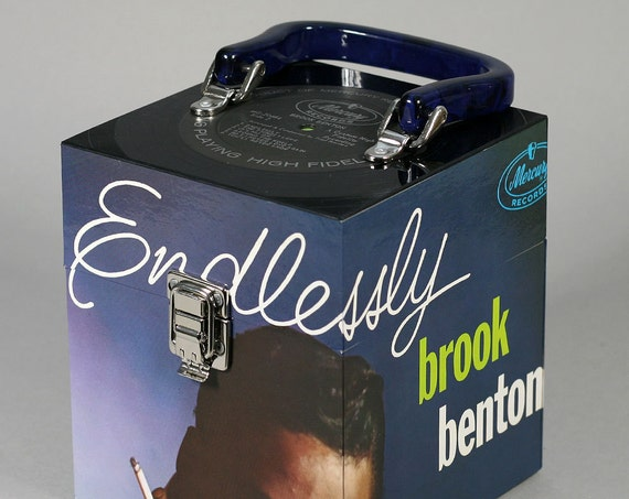 Brook Benton Endlessly CD Case or Keepsake Box - Handmade from Vintage Record