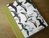 RESERVED for Salvador100 - Illustrated Bird Journal - Shearwaters Nature Guide Notebook