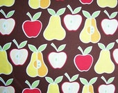 Alexander Henry Brown Apple and Pear Fabric 1 Yard