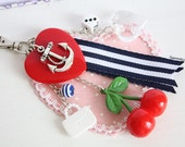 Sailor Rockabilly Bag Charm