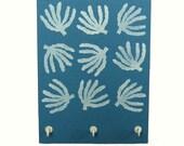 Coral Key Rack or Necklace Holder