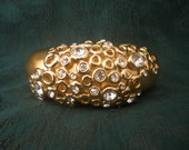 Vintage Givenchy Bangle With Crystals