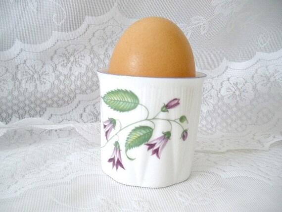 Vintage Fine China Egg Cup Shelley Campanula Pattern