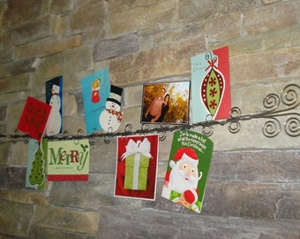 4 Foot  Wire Card and Photo Holder