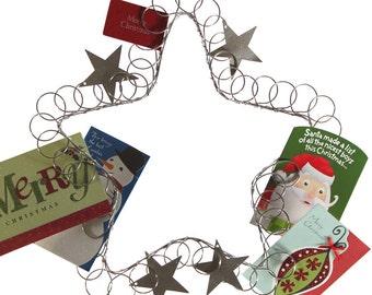 Star Wreath Card Holder
