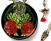 Voyageur - Nouveau Jardin Collection - Entwined in RED Rose