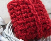 iPod Touch Nano Handmade Case Sock Cozy 6th Generation  Red
