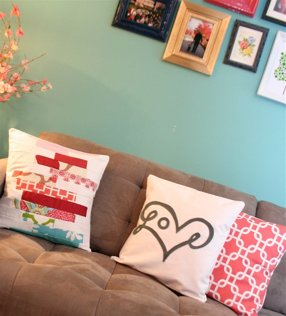 Coral Link Pillow Cover