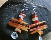 Inukshook earrings