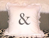 Made To Order Natural White Linen Cotton Blend Pillow (SLIP COVER ONLY) Ampersand Design