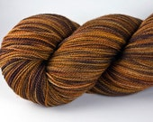 MAIZE-Merino/Silk hvy. Lace weight hand-dyed yarn