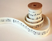 Musical Notes Cotton Tape