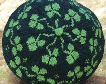 Tam O' Sham - PDF Knitting Pattern