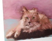 Cat limited edition digital print for pet lovers