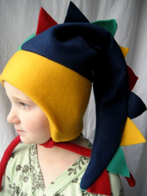 Large Fleece Dinosaur Hat