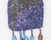 Summer Storm art pin