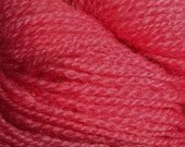 Mid Pink Handpainted Lace Weight Yarn - Merino Indie Dyed