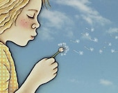Make a wish,  dandelion