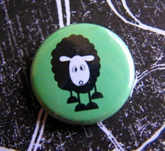 Black Sheep - 1 Inch Pinback Button