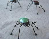 Custom Order for Bijousavvy --2 green, 2 blue, 1 black