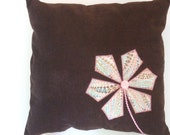 Girly Flower Pillow