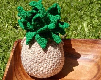 Crocheted Peelable Pineapple---PDF--PATTERN