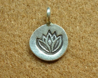 Karen Silver LOTUS CHARM - 2 pieces