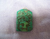 green man tile