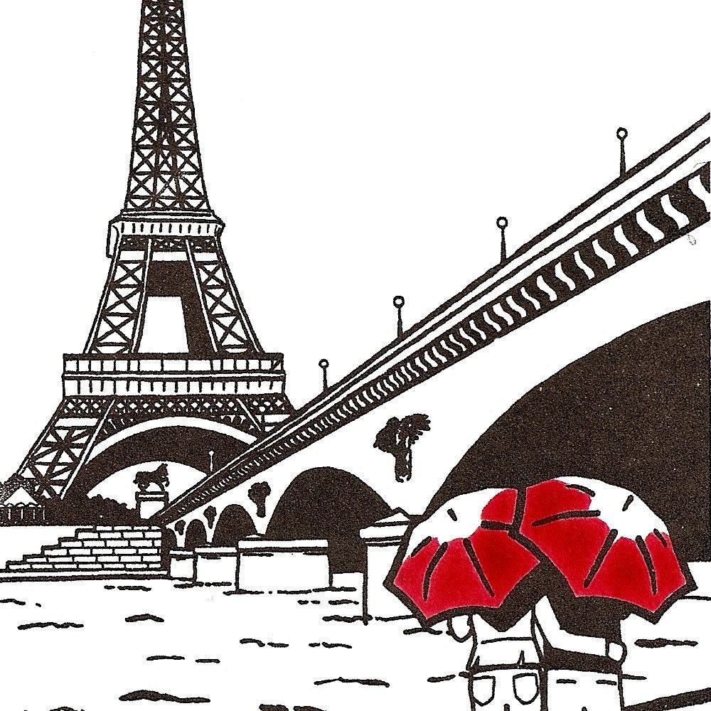 Paris Love Eiffel Tower