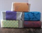 Custom order for Olivia Vegan Shea Butter CP Soap Sampler