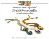 eTUTORIAL The Double Coin Knot Little Princess Necklace