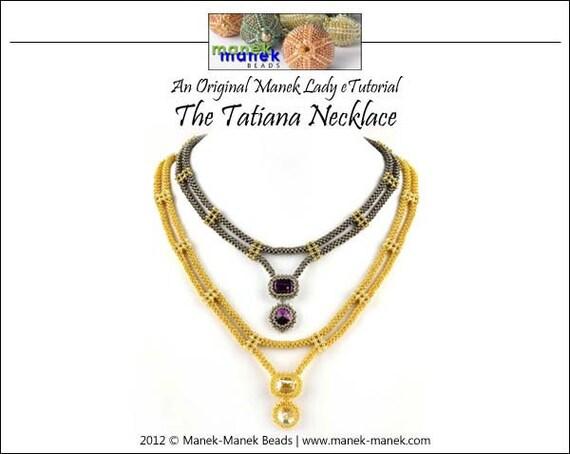 eTUTORIAL The Tatiana Necklace