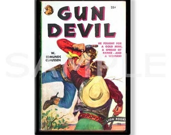 GUN DEVIL - Pulp Fridge Magnet