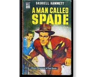 A MAN CALLED SPADE - Pulp Fridge Magnet