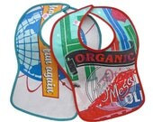 Fused Plastic Bibs (Set of 2)