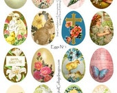 Instant Download Easter Eggs  Collage Sheet  DCS-515 DigitalCollageSheets, Printables, Downloads