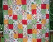 Modern Quilt - Crib Size - SALE