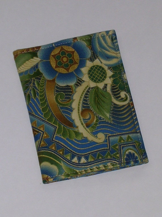 SALE - 25% off Fabric Passport Cover