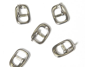 set of 100 belt buckle for blythe or 12 inch doll 17mm(B)