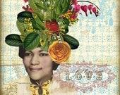 FIND LOVE Collage Print
