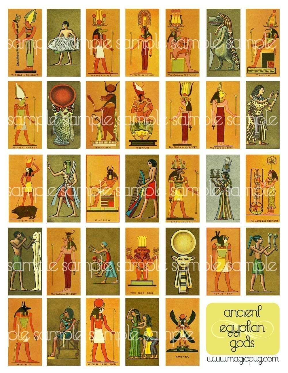 gods and goddess of ancient egypt List of mythological egyptian gods includes detailed information on deities that were observed in ancient egypt, such as anubis, ra, and osiris.