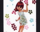 Cherry blossom doll